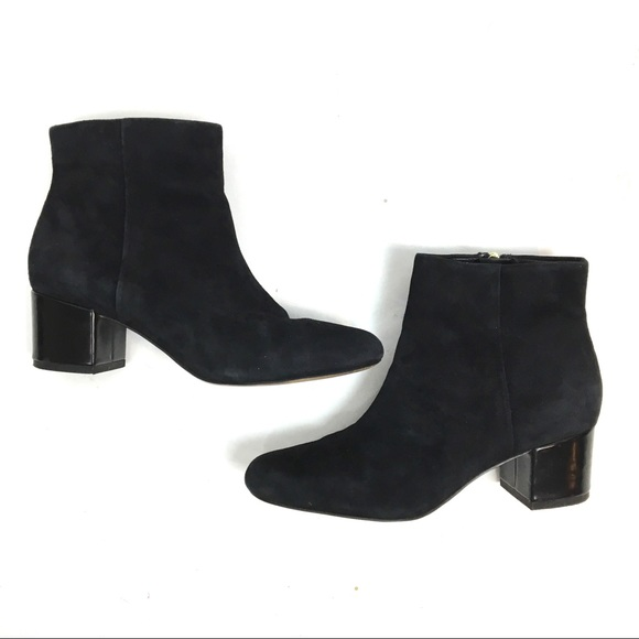 1c3afe3797bf0 Sam Edelman Edith Suede Ankle Boot Bootie Size 7.5.  M 5a3433af61ca10b79b01236f